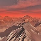 Mountains of Mars by algoldesigns