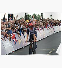 Elizabeth Armitstead Team GB - Womens Time Trial - London 2012 Poster