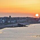 North Berwick Sunset, East Lothian, Scotland by Shona McMillan