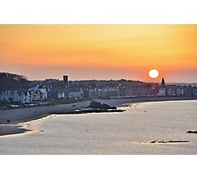 North Berwick Sunset, East Lothian, Scotland Photographic Print