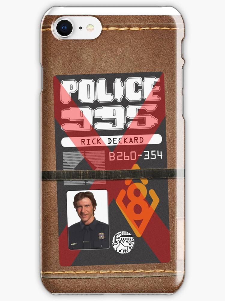 Deckard's phone cover by acepigeon