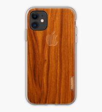 Oak wood cover iPhone Case