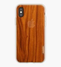 Oak wood cover iPhone-Hülle & Cover