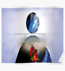 Reflection of Cosmic Wisdom Poster