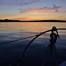 Sailing of Gabriola Island by Vancouver Island, British Columbia, Canadada by Shona McMillan