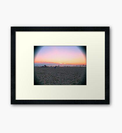 St. Joseph, MI | Silver Beach Framed Print