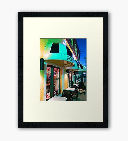 St. Joseph, MI | Caffe Tosi Framed Print