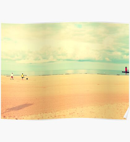 South Haven, MI | South Beach Poster