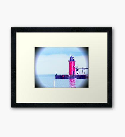 South Haven, MI | South Beach 2 Framed Print