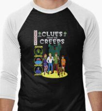 Clues From the Creeps Men's Baseball ¾ T-Shirt