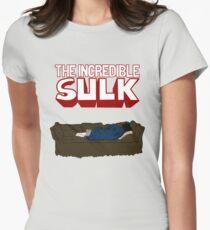 Sherlock Smash Womens Fitted T-Shirt