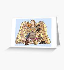 Precious Magebundle II: Electric Mewgaloo Greeting Card