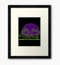 Meanwhile at the Legion of Doom Framed Print