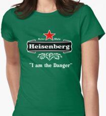 Heisenberg I am the Danger Womens Fitted T-Shirt