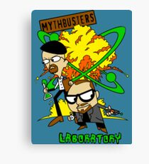 Mythbuster's Lab Canvas Print