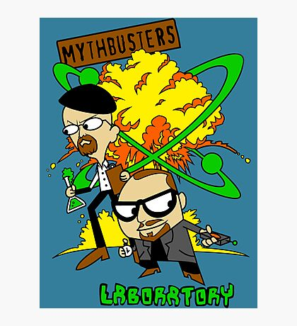 Mythbuster's Lab Photographic Print