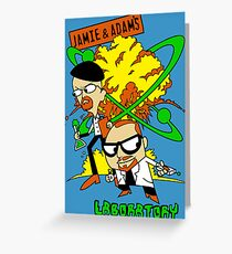 Jamie and Adam's Lab Greeting Card