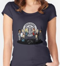 Fringe the Animated Series Women's Fitted Scoop T-Shirt