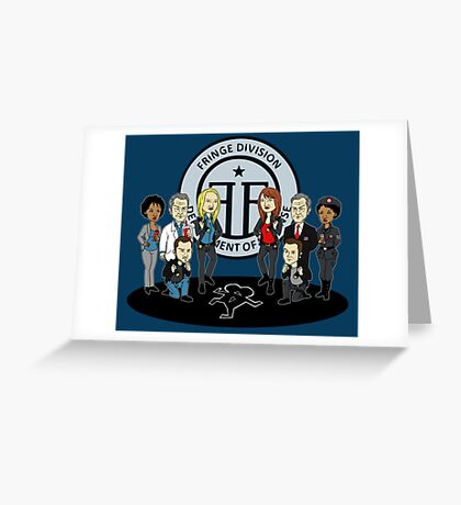 Fringe the Animated Series Greeting Card