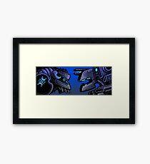 TITANS Framed Print