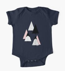 Pine Trees Pink Kids Clothes