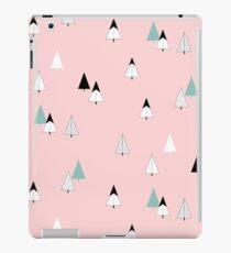 Pine Trees Pink iPad Case/Skin