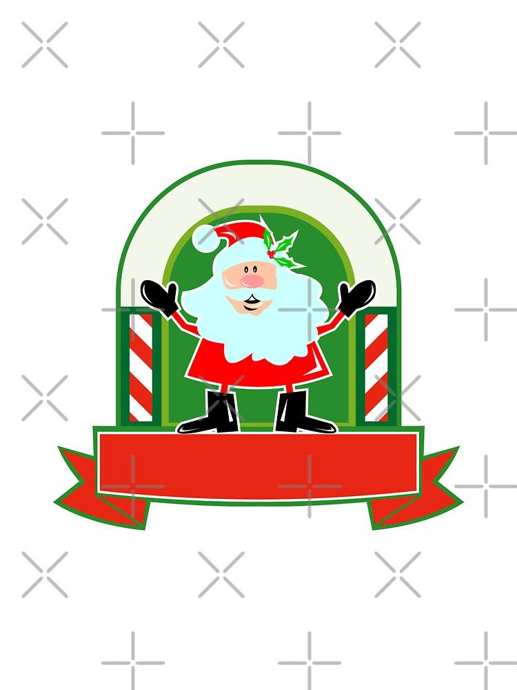 Father Christmas Santa Claus by patrimonio