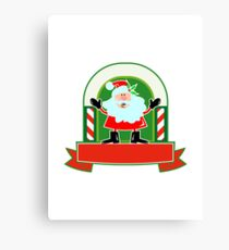 Father Christmas Santa Claus Canvas Print