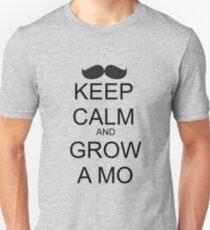 KEEP CALM AND GROW A MO Unisex T-Shirt