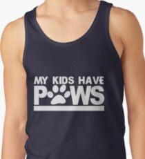 Meine Kinder haben Pfoten Tank Top