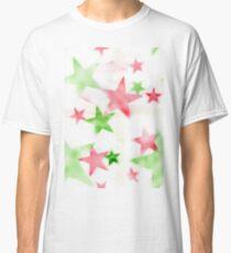 Air Brush Star Pattern Classic T-Shirt