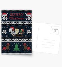 Aller MERRY Noël Cartes postales