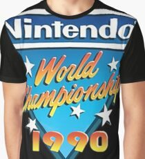 Video Game World Championships 1990 Graphic T-Shirt