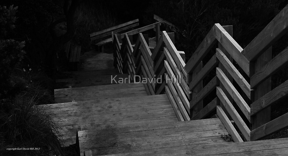 the path 008 by Karl David Hill