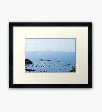 Les Gros Islets Framed Print