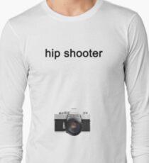 Digital camera isolated on white background DSLR on T-Shirt Long Sleeve T-Shirt