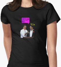 romney ryan 2012 oval office funny date T-Shirt