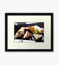 Cheese Feast 2 - Macro Photography Framed Print