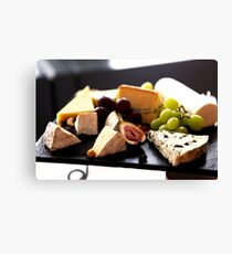 Cheese Feast 2 - Macro Photography Canvas Print