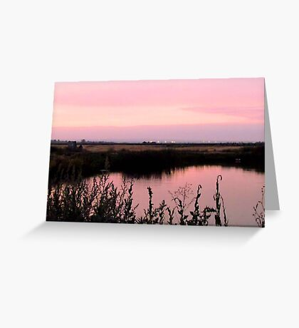 Is Pink what you think, when You think of Me~! Greeting Card