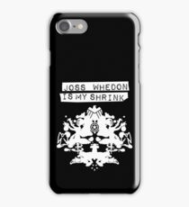 """Joss Whedon Is My Shrink"" - Light iPhone Case/Skin"