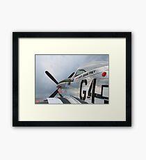 Capt Frey Framed Print