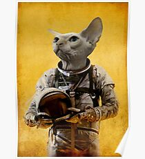 Proud astronaut Poster