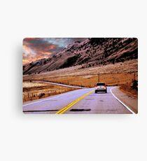 BC Highway Canvas Print