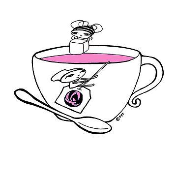 tea girl by blackbirdsong