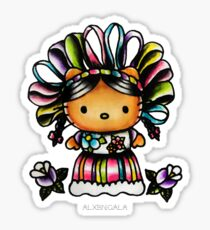 Mazahua Kitty Sticker