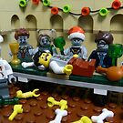 The Last Zombie Supper At Christmas by CheepJokes