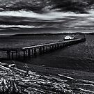 Old Pier by Jeffrey  Sinnock