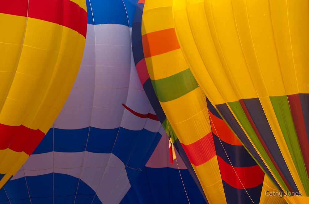 Balloon Launch at Lake Travis by Cathy Jones