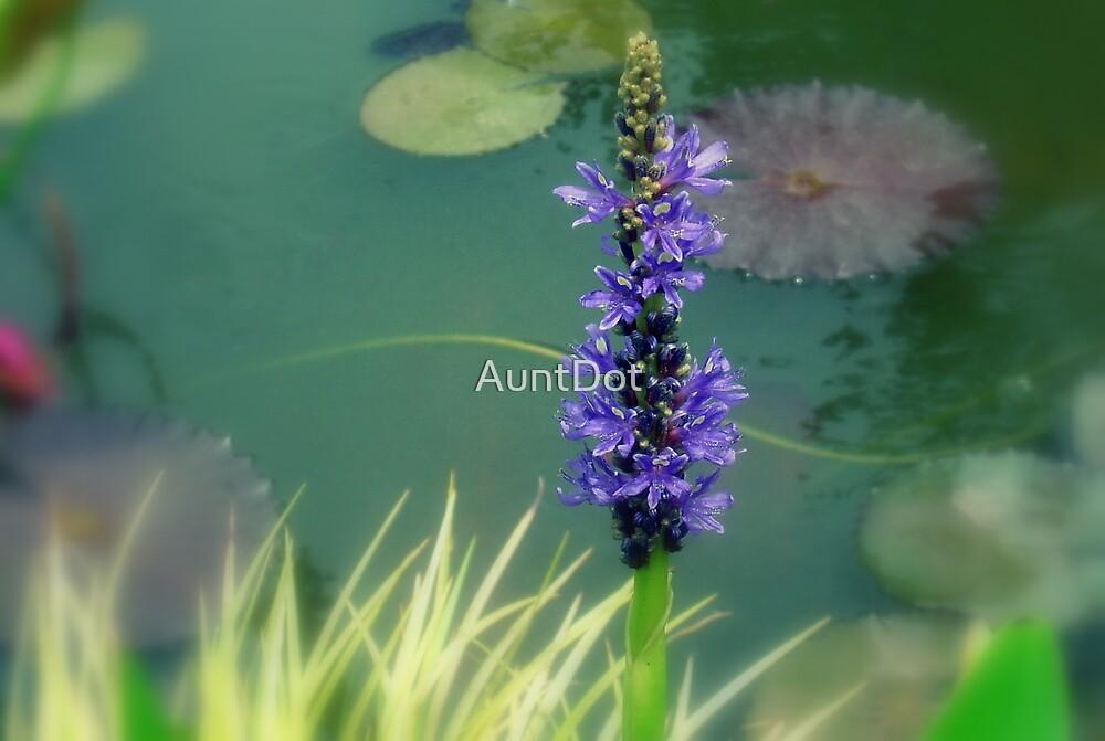 Little Blue Sentry by AuntDot